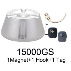 15000GS universal magnetic security tag detacher