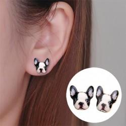 French Bulldog - stud earrings