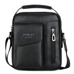 Men's shoulder crossbody leather bag