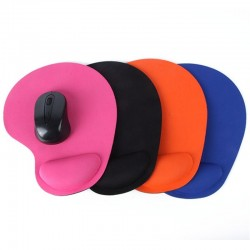 Wrist protect optical trackball mouse pad mat