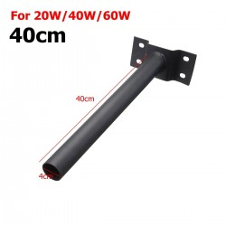 40cm - 50cm - wall mounting pole - for street light lamp