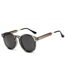 Round retro sunglasses - unisex