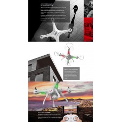 Syma X8PRO GPS With 720P WIFI FPV Camera - Altitude Hold - RC Drone Quadcopter