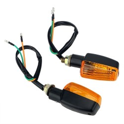 Motorcycle LED turn signal lights DC 12V - indicators 2 pcs