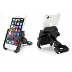 Motorcycle modified phone holder
