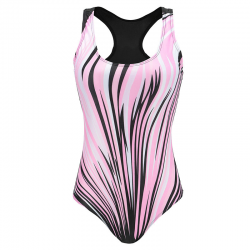 One-piece sport swimsuit size: s - xxxl