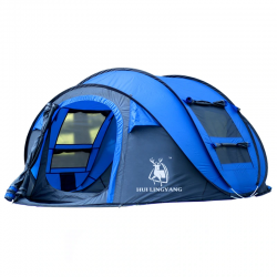 Automatic - throwing pop up - waterproof tent