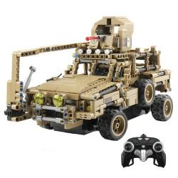 MoFun MZ6003 2.4G 1/12 military RC car truck self-build block 768 pcs