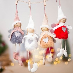 Christmas hanging dolls 4 pieces
