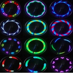 Rainbow Led Bike Wheel Light 30 Patterns*