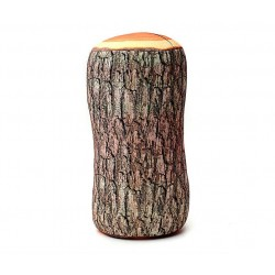 Tree wood cushion design 37cm