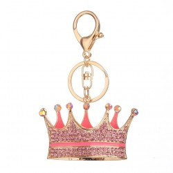 Crystal crown - keychain