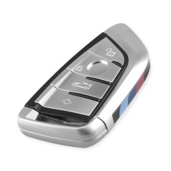 Key shell cover - case for BMW X5 F15 X6 F16 G30 7 Series G11 X1 F48 F39 - 4 buttons