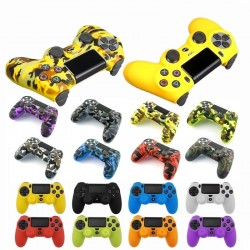 Playstation PS4 Pro Slim - protective skin for controller & 2 thumb stick grips caps