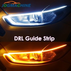DRL car turn lights - flexible LED strip - waterproof 2 pieces