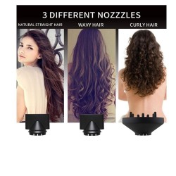 3 in 1 hair dryer - curler - straightener - volumizing - ion air blower