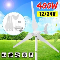 400W 12V- 24V - 3 blade - horizontal - wind turbine generator