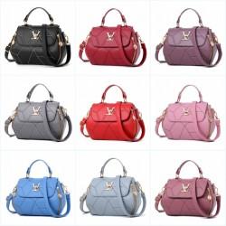 Modern design - small leather bag