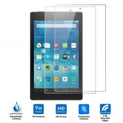 Amazon Fire 7 tablet screen protector - ultra-thin tempered glass - scratch-resistant - 2 pieces