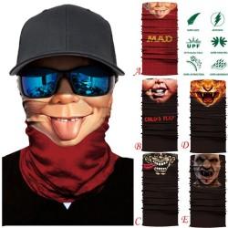 Motorcycle skull scarf - face mask - balaclava